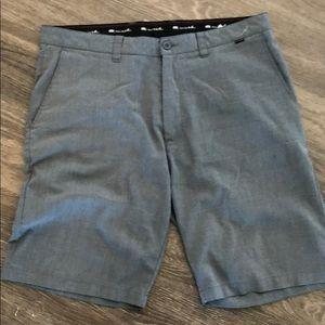 Travis Mathew grey shorts